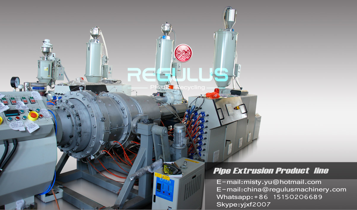 PE Pipe Extrusion Machine Line/HDPE Pipe Production Line/Plastic HDPE/LDPE Tube Pipe Line